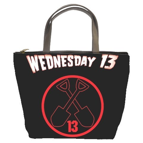 Wednesday 13 /Rock/Band Bucket Bag/Purse(2  Side)-NEW