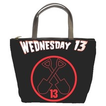 Wednesday 13 /Rock/Band Bucket Bag/Purse(2  Side)-NEW - $27.00