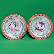 Vintage Pair of Made In Occupied Japan Maruhan Ware Trinket Dishes Or Co... - $3.95