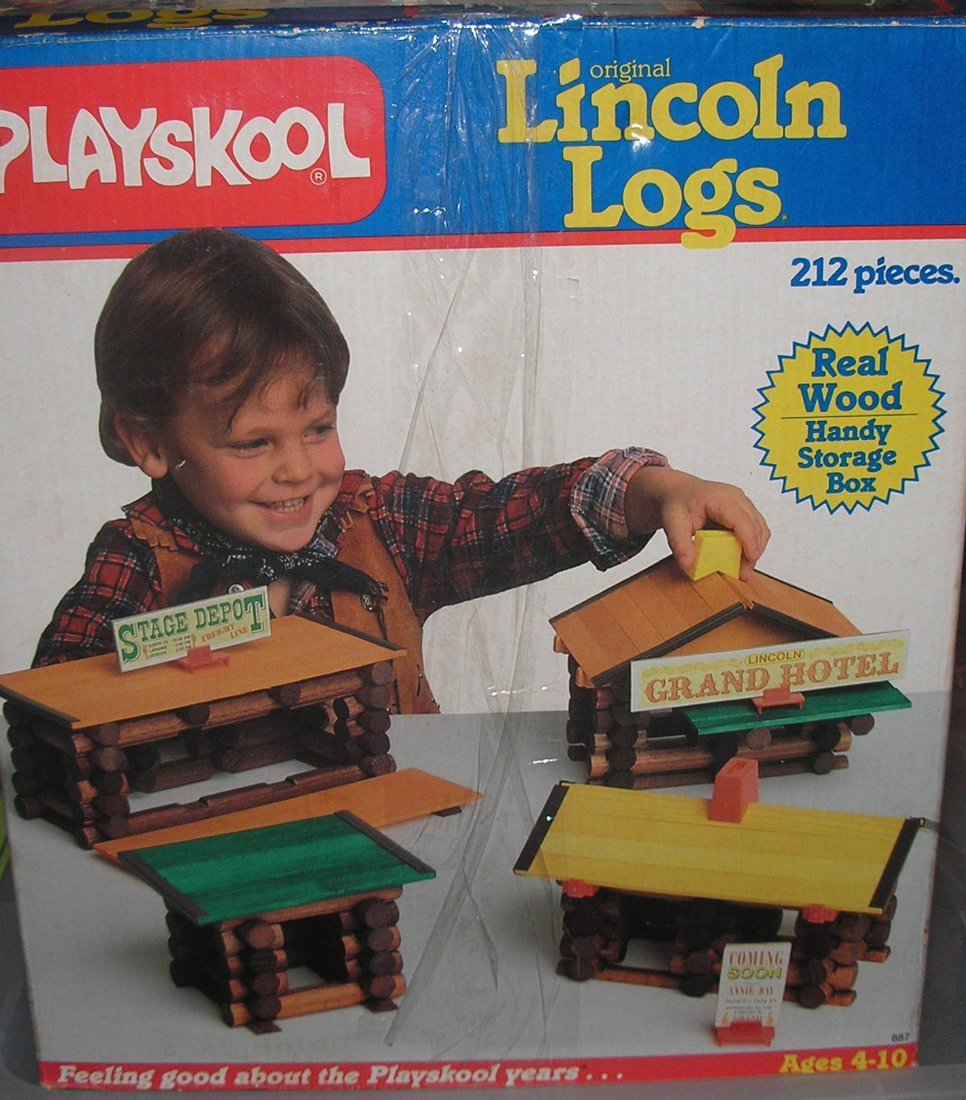 Vintage Playskool Lincoln Logs Grand