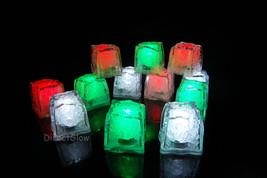LiteCubes Light Up LED Ice Cubes Christmas Pack- 12pc Set - $36.06 CAD