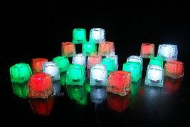 LiteCubes Light Up LED Ice Cubes Christmas Pack- 24pc Set - $58.00 CAD