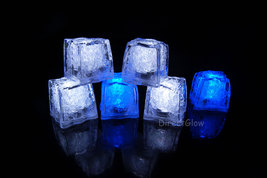 LiteCubes Light Up LED Ice Cubes Winter Pack- 6pc Set - $19.29 CAD