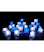 LiteCubes Light Up LED Ice Cubes Winter Pack- 24pc Set - $57.47 CAD