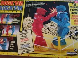 MATTEL ROCKEM SOCKEM ROBOTS, NEW IN BOX - $36.00
