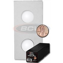 WHOLESALE ASSORTED of 2x2 COIN FLIPS - Red Box (QTY = 5000 Coin Flips)  - $139.95