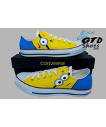 painted Converse sneakers. Minions, Fanart, Handpainted shoes - $79.00 - $110.00