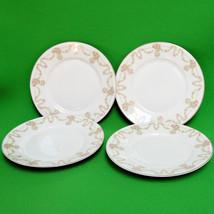 """Vintage (1924+) Set of 4 6"""" Saucers Or Side Plates, Tirschenreuth P. T. ... - $7.95"""
