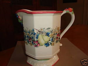 Primary image for Avon Sweet Country Harvest Octagonal  Pedestal Pitcher