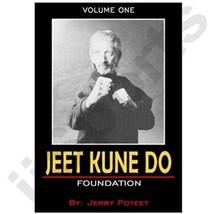 Jerry Poteet Jeet Kune Do #1 Foundation DVD Bruce Lee Jun Fan Lead Leg H... - $19.99