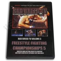 Hard Shooto NHB MMA Grappling Fighting Women Bad Breed Magazine #3 DVD N... - $8.59