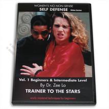 Girls Women's No Non-Sense Self-Defense DVD Zee Lo Martial Arts nonsense... - $9.99