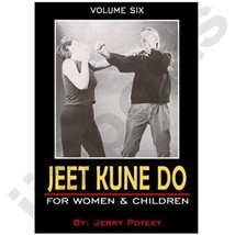 Jerry Poteet Joseph Jeet Kune Do #6 Women Children Girls VHS Video Bruce... - $3.99