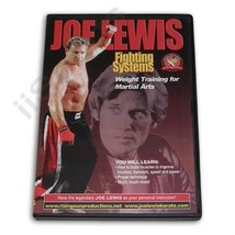 Joe Lewis Karate Martial Arts Contact Fighting Weight Training #15 DVD J... - $22.44