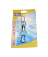 Edge World Tool Net 7.5lb Magnet Holder Quick Release Carabiner ocean sa... - $8.50