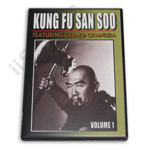 Gerald Okamura Chinese Kung Fu San Soo Kicking #1 DVD NEW! mma grappling - $19.99