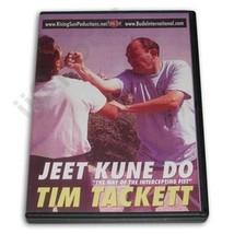 Bruce Lee Jeet Kune Do Way Intercepting Fist Jun Fan DVD Tim Tackett RS-... - $22.44