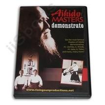Japanese Aikido Masters Shioda Tohei Ueshiba Saito Demos DVD sword jo ta... - $22.44