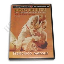 Kioto Brazilian Jiu Jitsu Defense Weapons Blades Basics #1 DVD Mansur M-... - $22.44