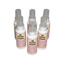 6 Sakura Hobby 3D Crystal Clear Lacquer 2oz Bottles scrapbooking craft B... - $33.66