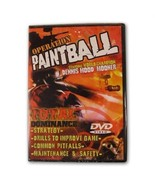 Operation Paintball Total Dominance DVD Pro Techniques How To Jason Mort... - $9.05