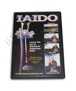 Classical Japanese Iaido DVD kendo iai samurai sword fighting Seiji Ueki... - $22.44