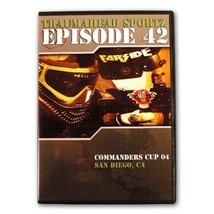 Traumahead Sportz #42 Commanders Cup Paintball Tournament Open 2004 DVD ... - $7.69