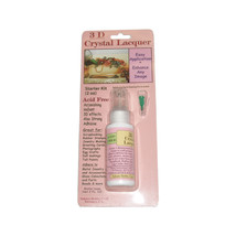 Sakura Hobby 3D Crystal Clear Acrylic Lacquer STARTER KIT 01802 crafts a... - $7.66
