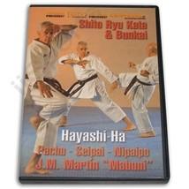 Shito Ryu Advanced Karate Kata & Bunkai Hayashi Martin DVD Pachu Seipai ... - $22.34
