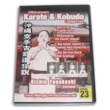 Okinawan Karate Kobudo Legends #23 DVD Gichin Funakoshi Shotokan #RS-062... - $22.34