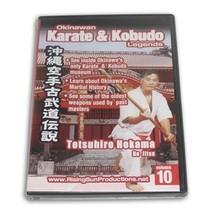 Okinawan Karate + Kobudo Legends #10 DVD Bo Jitsu Tetsuhiro Hokama RS061... - $19.99