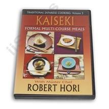 Traditional Japanese Cooking Formal Dishes Kaiseki DVD Chef Robert Hori ... - $19.95