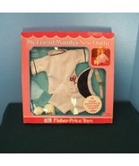 Vintage Fisher Price My Friend Doll #220 Springtime Tennis Outfit New in... - $26.99