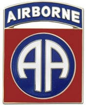 US Army 82nd Airborne Division Combat Service Badge  (2 inch) - $14.84
