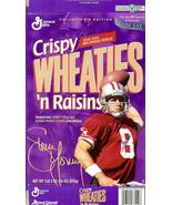 steve young wheaties cereal box san francisco 49ers football nfl autograph - $9.99