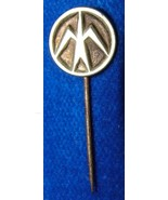 VINTAGE ANONYMOUS SILVER TONE BADGE LAPEL PIN # 60 - $4.99
