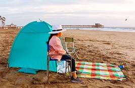 Beach Tent CoolHut Sun Shelter Instant Portable Cabana Shade Outdoor Popup - $52.93