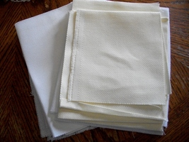 Counted Cross Stitch Aida Fabric Lot - $20.00