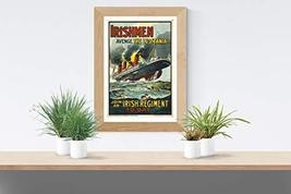"Irishmen Avenge the Lusitania - Art Print - 13"" x 19"" - Custom Sizes Available - $25.00"