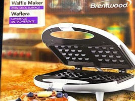 Brentwood TS-242 Non-Stick Dual Waffle Maker - White - €20,71 EUR