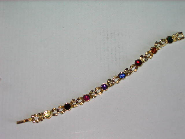 "Haunted Gemstone Fairy Magick Bracelet - Fae - 7"" Long"