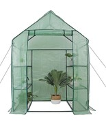 6 Shelves 3 Tiers Green House, Gardening, Sprouting, Summer Planting, Ro... - $79.19
