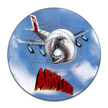 Airplane 1975 Movie Twisted Airplane Reproduction Circle Aluminum Sign - $16.09