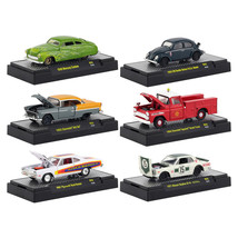 Auto Shows 6 piece Set Release 55 IN DISPLAY CASES 1/64 Diecast Model Ca... - $52.64
