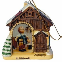 Hummel Christmas ornament figurine goebel Bavarian Bradford little shoem... - $29.65