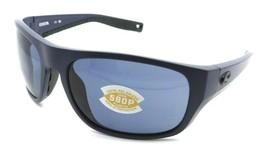 Costa Del Mar Sunglasses Tico TCO 14 60-17-119 Matte Midnight Blue / Gra... - $131.32