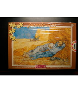 Educa Jigsaw Puzzle 1994 Vincent Van Gogh Rest From Work 500 Pieces Sealed Box - $10.99