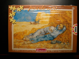 Educa Jigsaw Puzzle 1994 Vincent Van Gogh Rest From Work 500 Pieces Seal... - $13.99