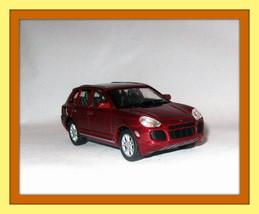 PORSCHE CAYENNE TURBO BORDEAUX WELLY 1/32 DIECAST CAR COLLECTOR'S MODEL ... - $27.80