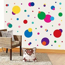 PARLAIM Wall Stickers for Bedroom Living Room Polka Dot Wall Decals for Kids Boy